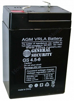 GENERAL SECURITY GS 4,5-6